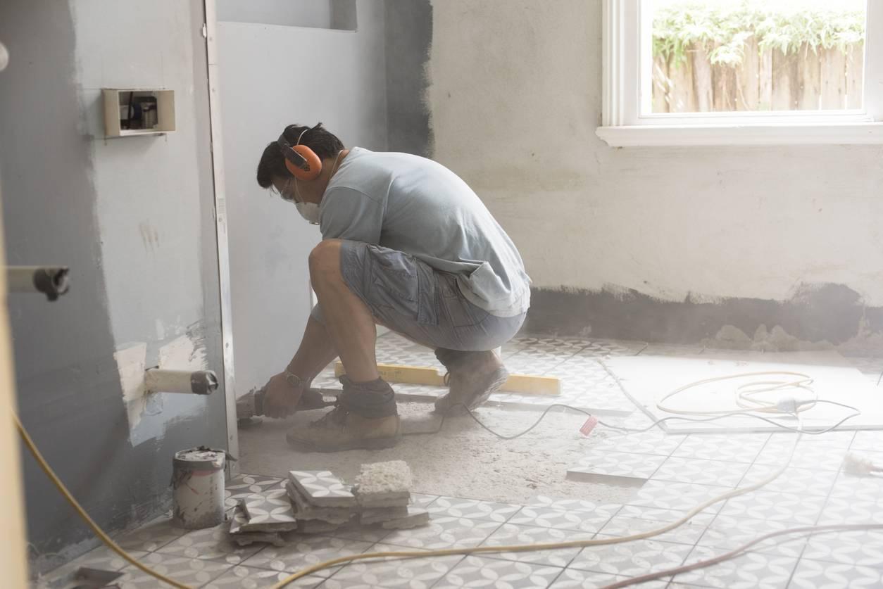 travaux rénovation salle de bains