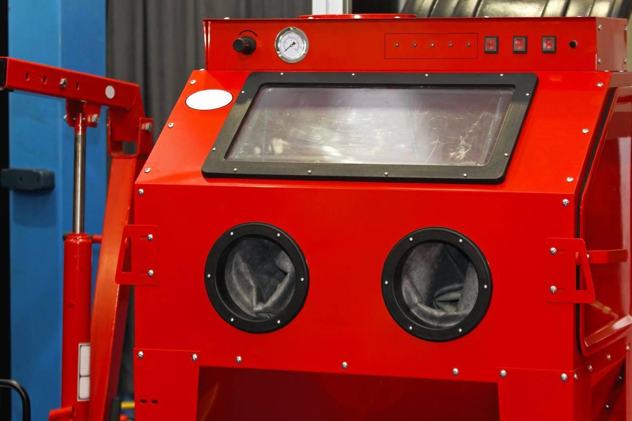 Machine de sablage