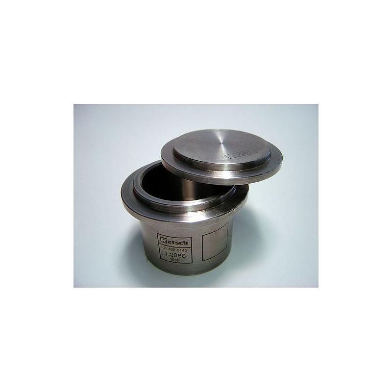 01.462.0145 - Bol de broyage comfort - acier spécial au chrome - 50 ml