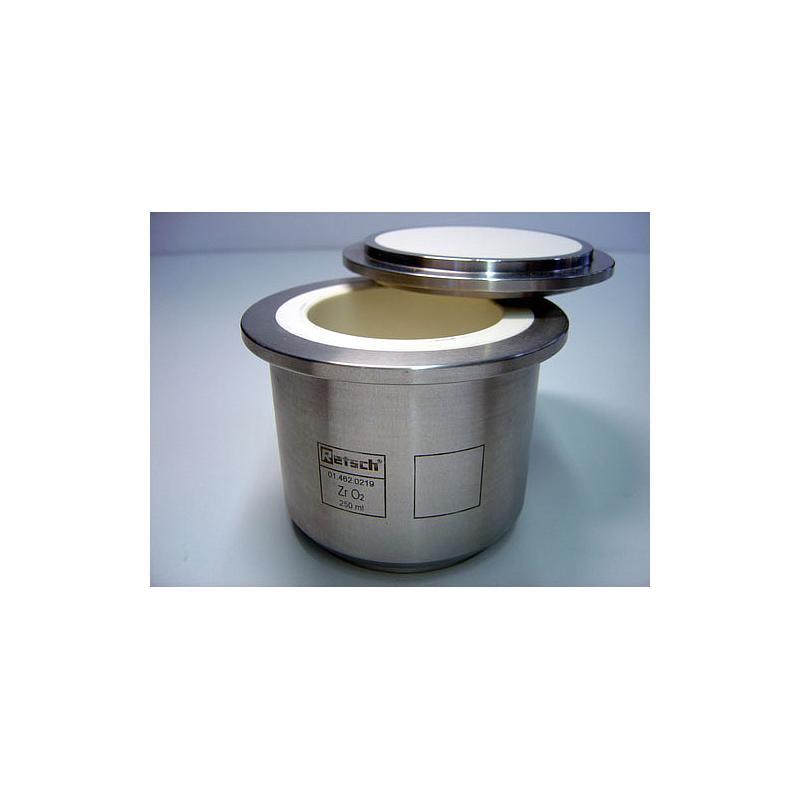 01.462.0219 - Bol de broyage comfort - Oxyde de zirconium - 250 ml