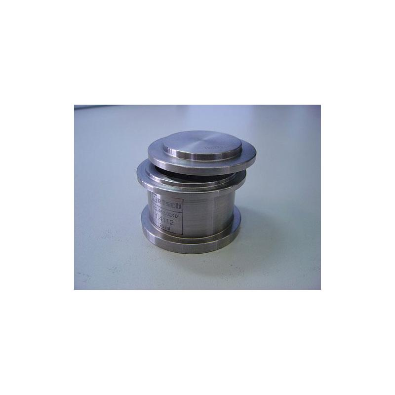 01.462.0240 - Bol de broyage comfort - acier inoxydable - 25 ml