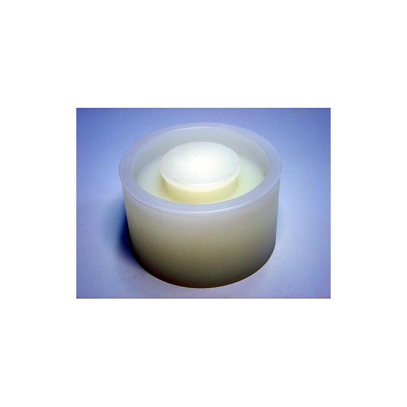 02.107.0328 - Couvercle gravitique en PP 0.3 litre pour récipient en verre, en inox
