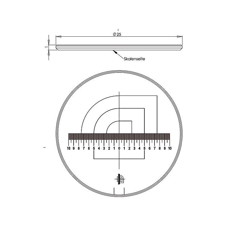 09450-TEC - Doubles échelles - Tech-line - Schweizer