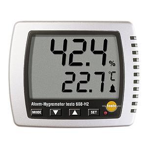 608-H2 - Afficheur hygromètrie et température - alarme - Testo