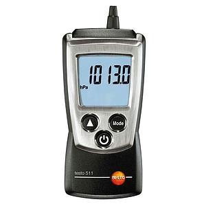 Appareil de mesure de la pression absolue et surpression Testo 511