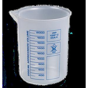 Bécher forme basse en PP - 1000 ml - Bürkle