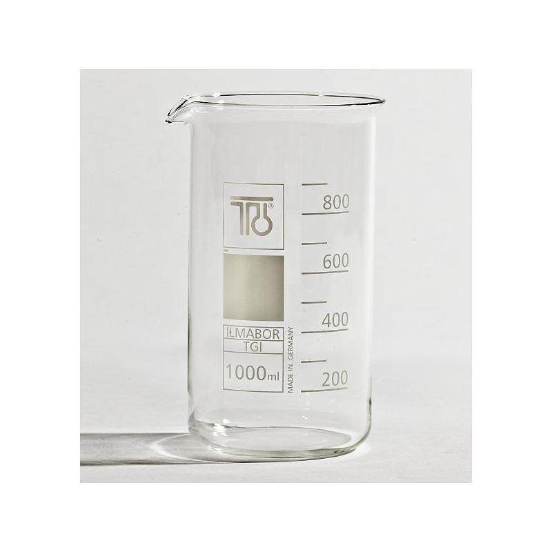Bécher forme haute en verre - 1000 ml - TGI