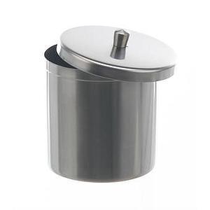 Bécher inox avec couvercle 2500 ml