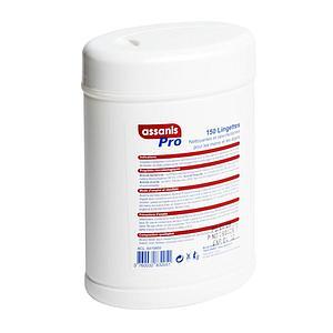 Bobinot 120 Lingettes désinfectantes Assanis Pro - Blue Skin