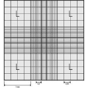 Cellule de numération Neubauer modifiée avec pinces