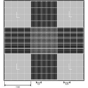 Cellule de numération Neubauer modifiée - fond métallisé