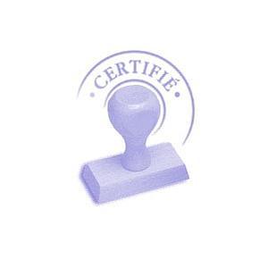 Certificat de calibrage - ADAM
