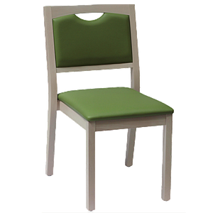 Chaise Relax en bois, couleur bégonia - Kango