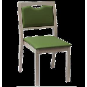 Chaise Relax en bois, couleur mastic - Kango