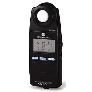 Colorimétrie : colorimètre, luxmètre, chromamètre CL-200A - Konica Minolta