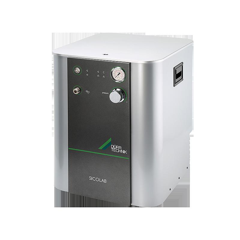 Compresseur de laboratoire sans huile + sécheur avec filtre fin + charbon actif - Sicolab 200 - DÜRR TECHNIK