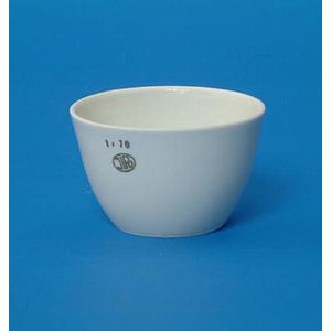 Creuset porcelaine forme basse 34 ml - Ø 50 mm - H 32 mm - Lot de 5