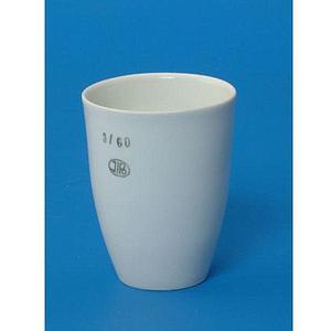 Creuset porcelaine forme haute - Ø 40 mm - Hauteur 50 mm - Capacité 35 ml - Lot de 5