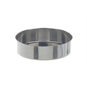 Cristallisoir inox - forme basse - 50 ml