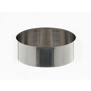 Cristallisoir nickel - forme basse - 45 ml