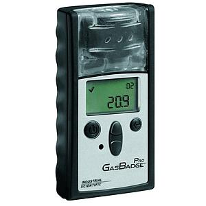 Détecteur monogaz : detecteur d'oxygène (O2) GasBadge Pro