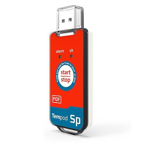 Enregistreur de transport : enregistreur de température jetable Tempod SP
