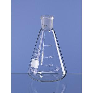 Erlenmeyer col rodé 29/32 en verre Duran - 100 ml - Lot de 10 - Lenz