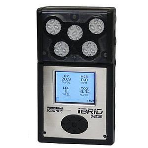 Explosimètre et détecteur multigaz portable MX6 IBRID - Industrial Scientific