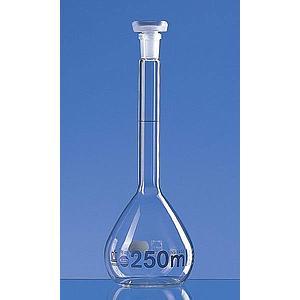 Fiole jaugée 25 ml - bouchon en verre - Lot de 2 - Brand