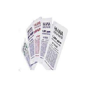HI 70004P - Solution d'étalonnage pH 4.01 en sachets - 25 x 20 ml