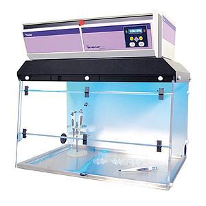 Hotte PCR CaptairBio 391 + filtre particulaire HEPA H14 - Erlab