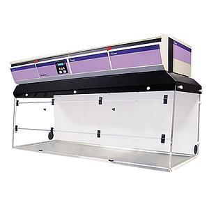 Hotte PCR CaptairBio 712 + filtre particulaire HEPA H14 - Erlab