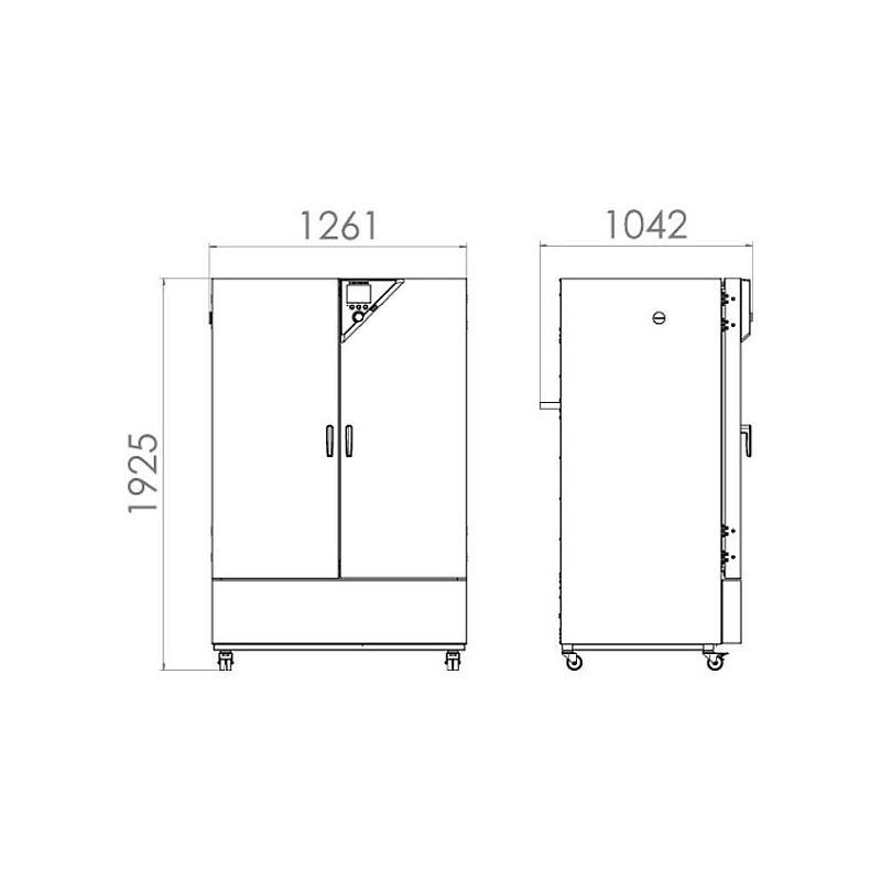 Incubateur réfrigéré à convexion forcée KB 720 - Binder