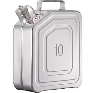 Jerrican de sécurité 10KT - 10L - Bouchon fileté 1 ½