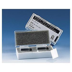 Lamelle couvre-objet pour lame porte-objet - 22 x 22 mm - Boite de 200 - Brand