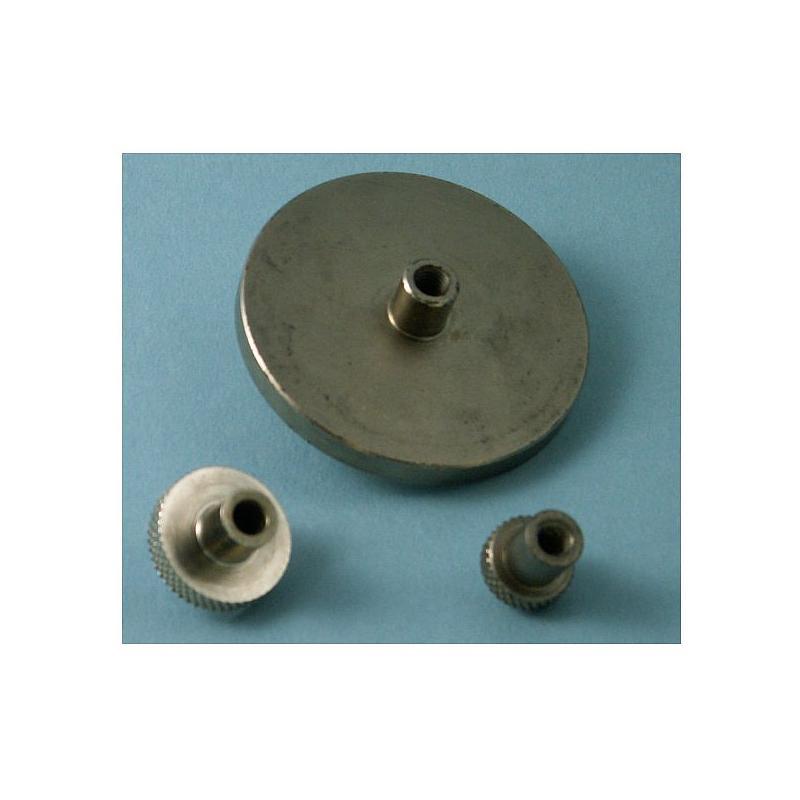 MEC-ACC008-06 - Accessoires dynamomètre - Plateau de compression Nickel 50 mm pour dynamomètre - Mecmesin