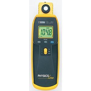 Mesure de l'intensité lumineuse : luxmètre CA 813