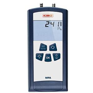 Mesure de pression différentielle : Anémo-Manomètre MPA - Kimo