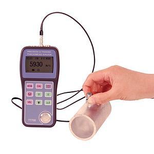 Mesure d'épaisseur des parois par ultrasons - Haute résolution avec mémoire - Delta TT-700 Time