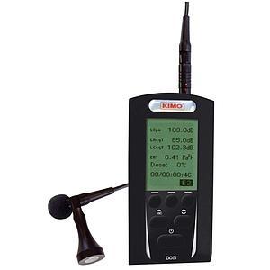 Mesure du niveau sonore : exposimètre DOSI - Kimo