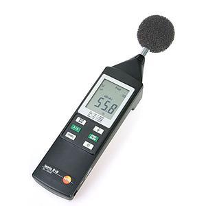 Mesure du niveau sonore : sonomètre 816