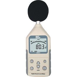 Mesure du niveau sonore : sonomètre AR814