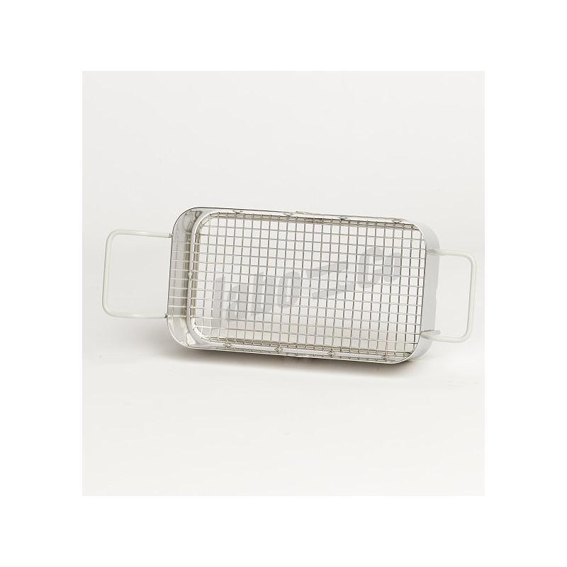 Panier inox pour bac ultrasons S30 / P30 H / Blacksonic 275H