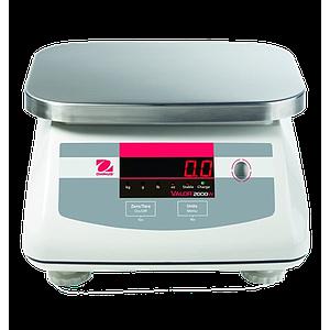 Pesage : balance inox agroalimentaire Ohaus Valor 2000 Xtreme haute résolution - 6 kg - OHAUS