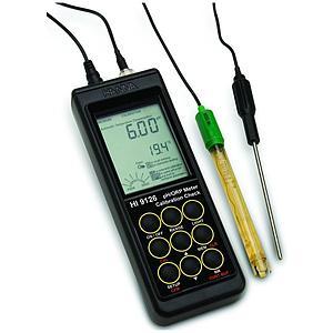 pH-mètre / mV-mètre portable HI 9126 - Hanna