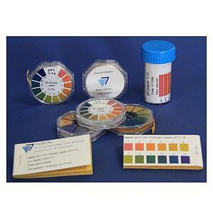 Recharge de 3 rouleaux de papier pH universel 1-14 - 5 m