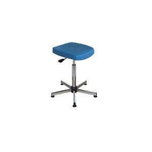Semi-assis polyuréthane bleu à patins - Kango