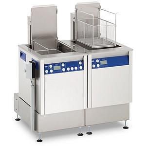 Station de nettoyage par ultrasons avec agitation et unité de rinçage Elma X-tra 300 USMFOSWH - Multifréquence