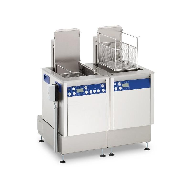 Station de nettoyage par ultrasons avec agitation et unité de rinçage Elma X-tra 800 USMFOSWH - Multifréquence