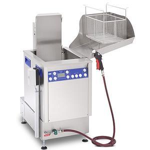 Station de nettoyage par ultrasons avec unité de rinçage Elma X-Tra Line Flex 1 1600 USMFO - Multifréquence